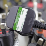 Side view of plug