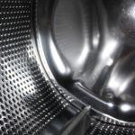 Clean washing machine drum