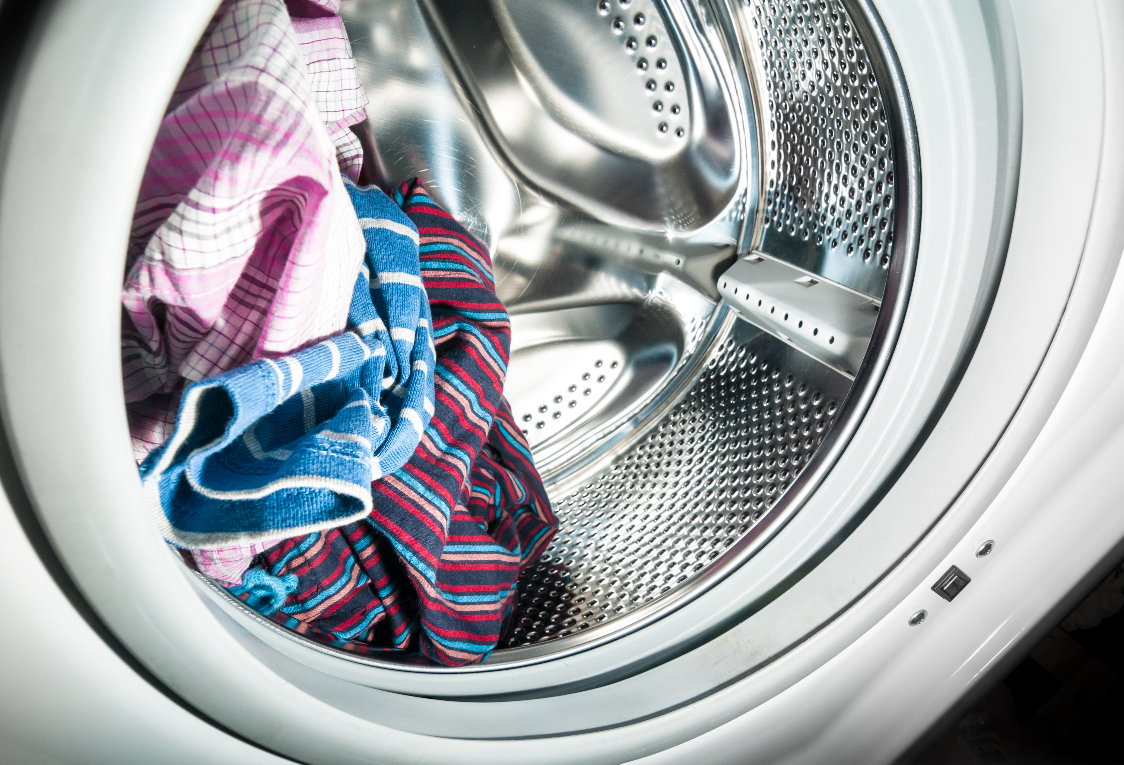 my washing machine smells