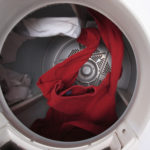 Clothes Tumbling in Dryer