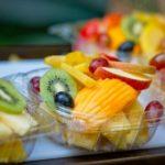 fruit in plastic