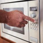 using microwave